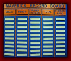 Maverick Record Board