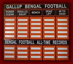 Gallup Bengal Football