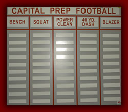 Captial Prep Football