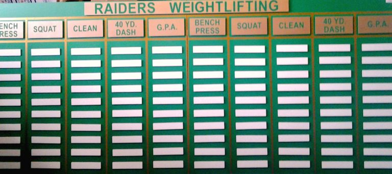 Raiders Weightlifting